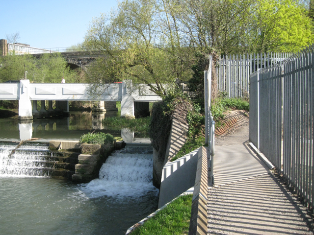 Changes along Riverside Walk