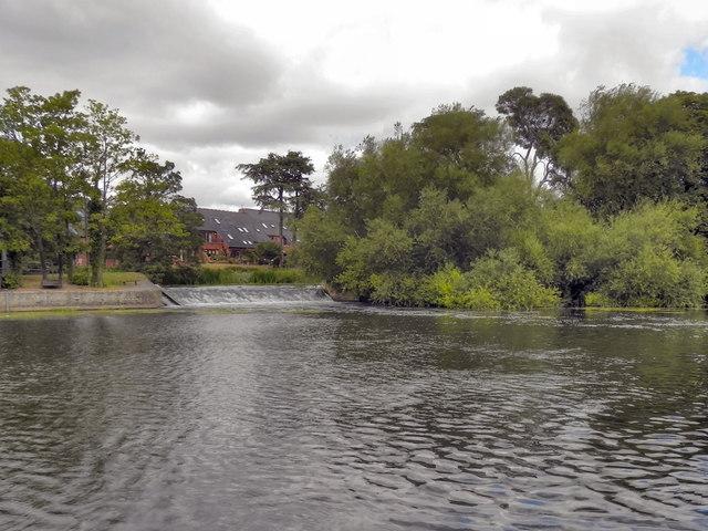 Lucy's Mill Weir, River Avon