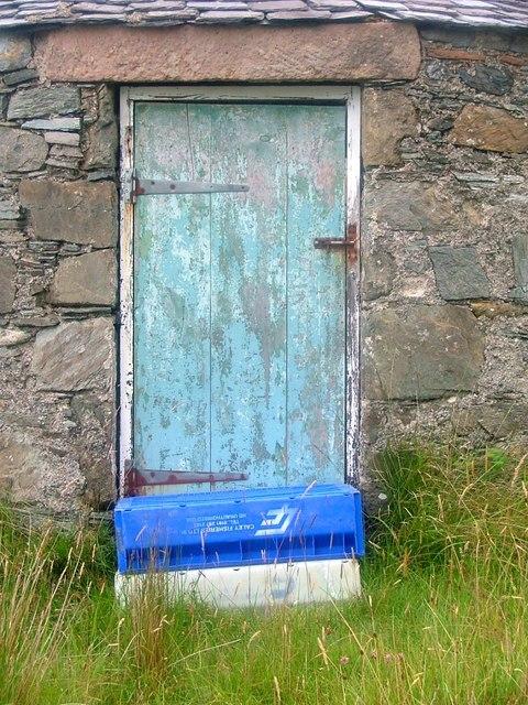Door of Stone Building