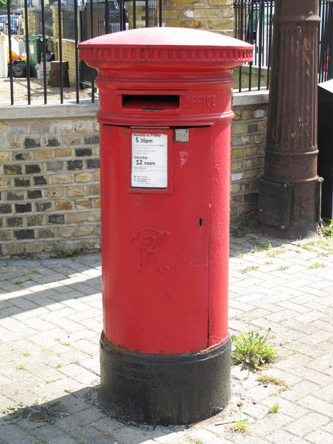 Victorian postbox, Belsize Road / Priory Terrace, NW6