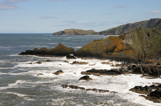 The Berwickshire coast