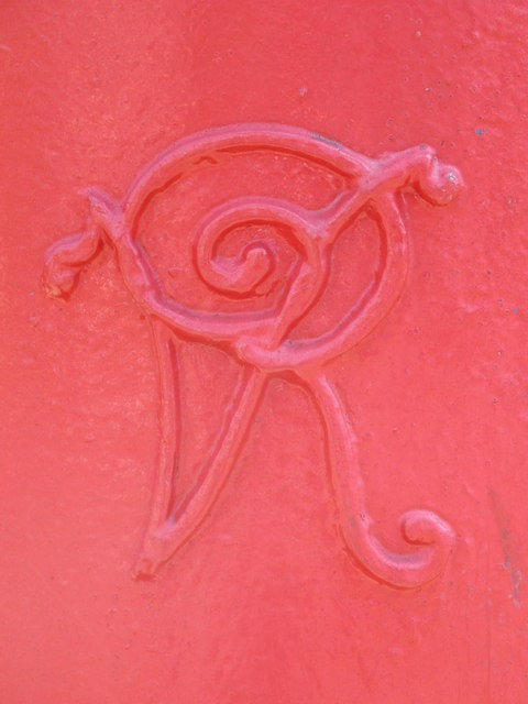 Victorian postbox, Belsize Road / Priory Terrace, NW6 - royal cipher