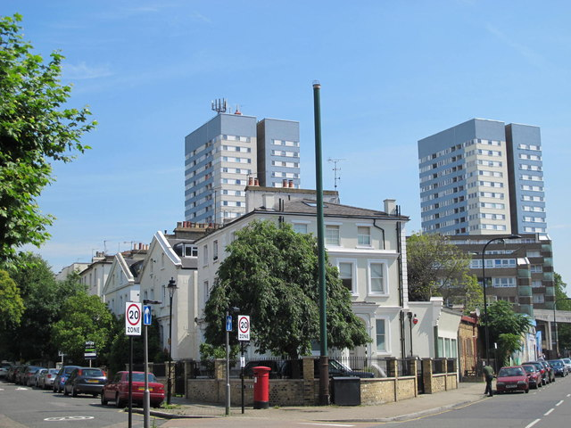 Belsize Road / Priory Terrace, NW6