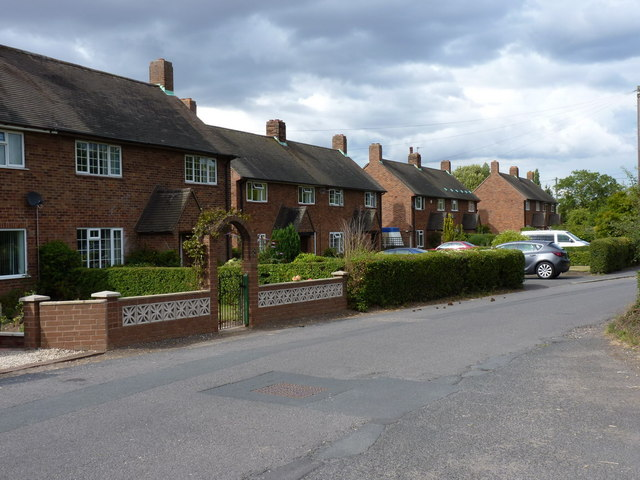 Houses on The Avenue, Wrockwardine