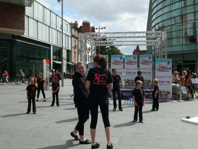 Street entertainment, Liverpool
