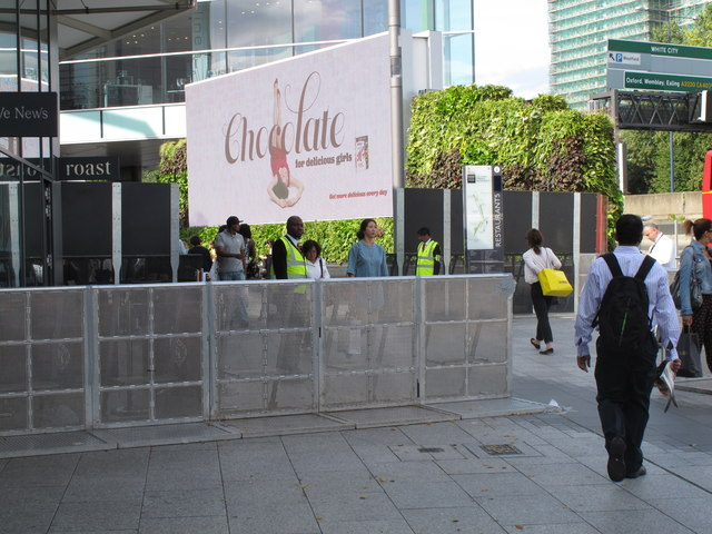 Increased security at Westfield after riots