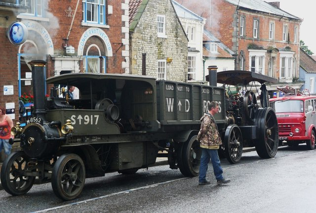 Old Vehicles on Parade