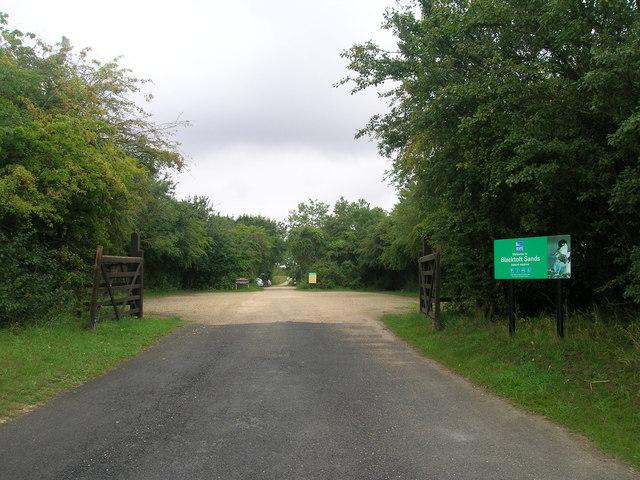 Entrance to Blacktoft Sands RSPB Reserve
