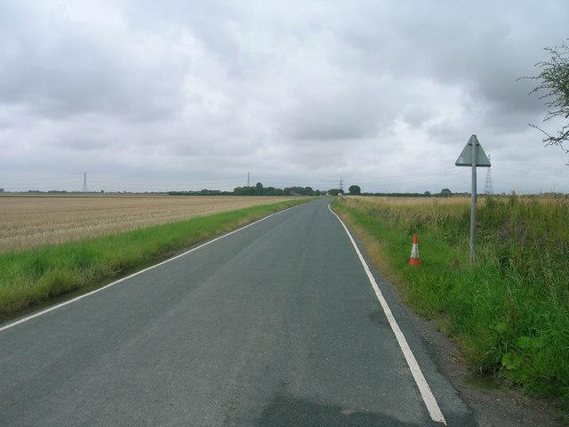 Minor road towards Ousefleet
