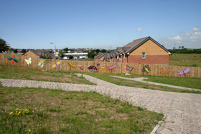 A community space at Drongan