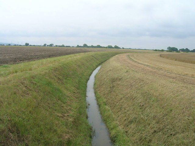 Drainage ditch, East Field