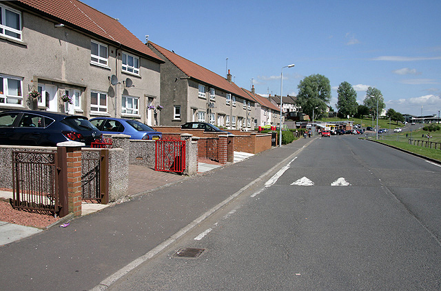 A street in Drongan