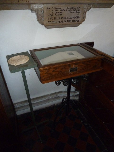 Whitchurch-All Hallows: 1914-18 Book of Remembrance