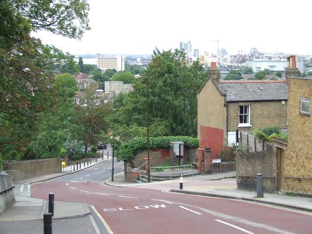 Vanbrugh Hill, near Greenwich