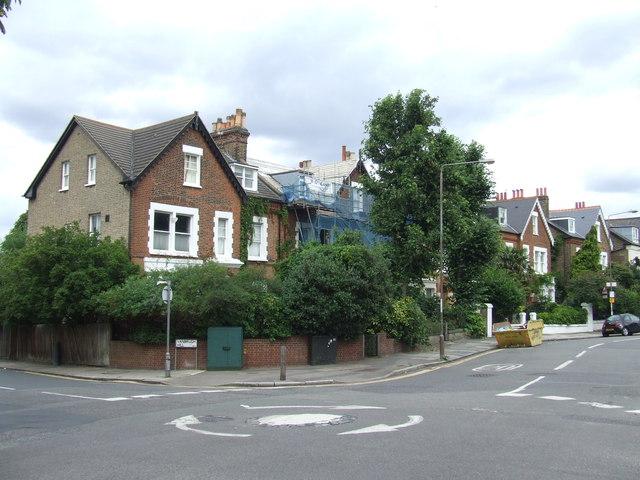 Houses on Westcombe Park Road, Blackheath