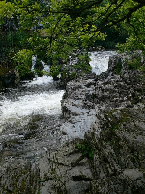 River Llugwy at Pont-y-Pair