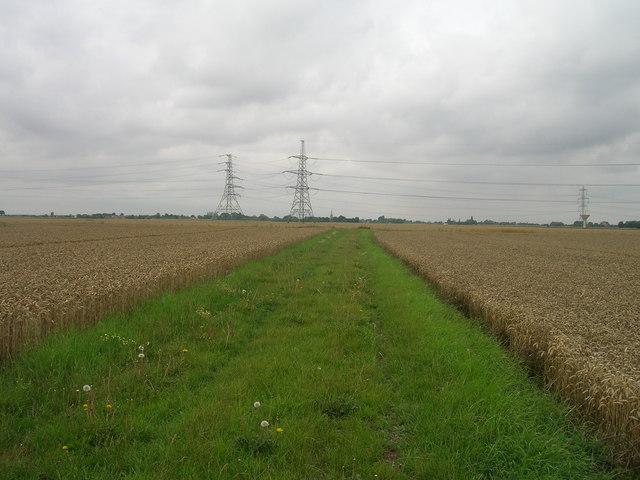 Farm track heading west