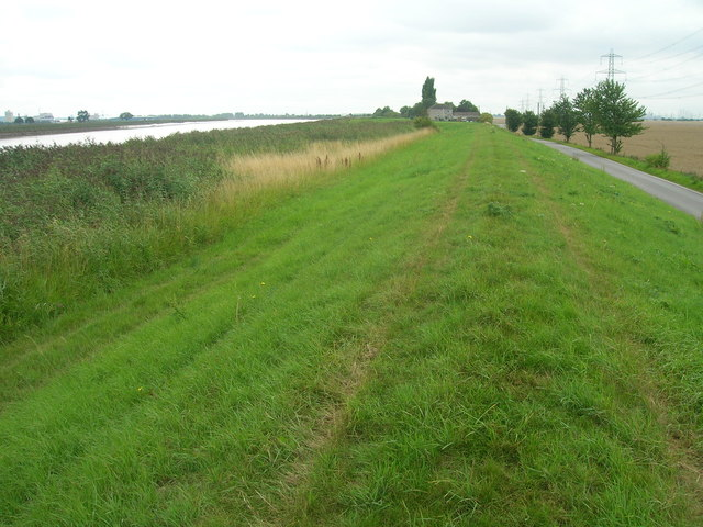 River Trent floodbank