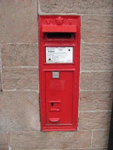 Post box, Cheswick