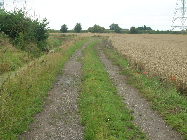 Farm track off Chapel Lane