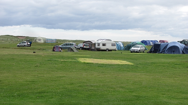 Goswick camp site