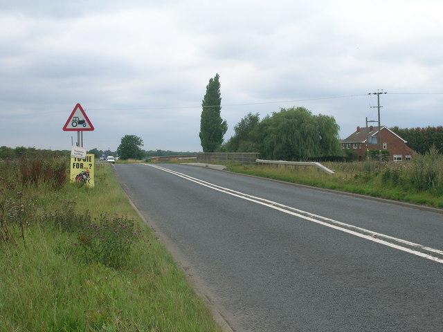 A18 towards Doncaster