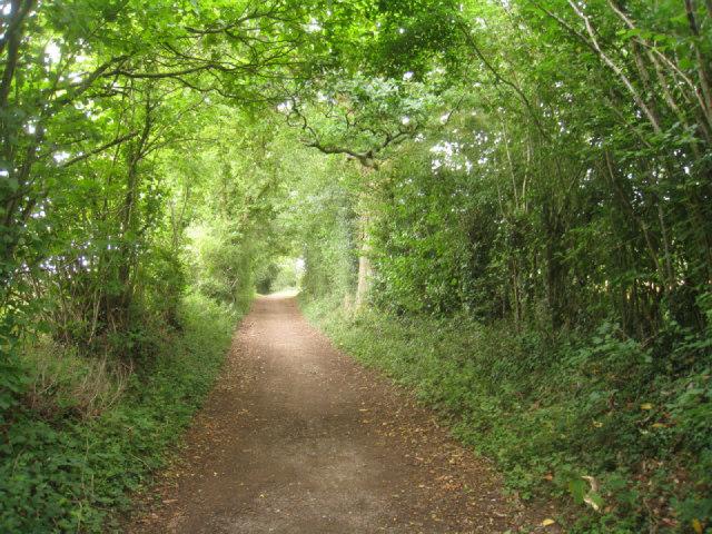 Path to Basingstoke