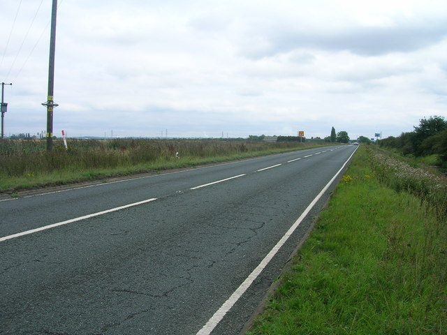 A18 towards Althorpe