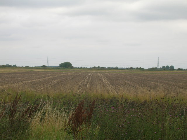 Farmland off the A18