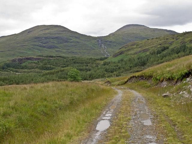 Track near Derrynaculen
