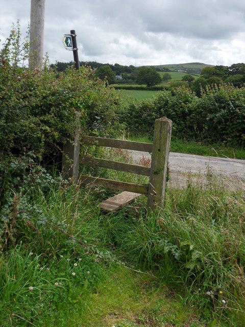 Footpath exit
