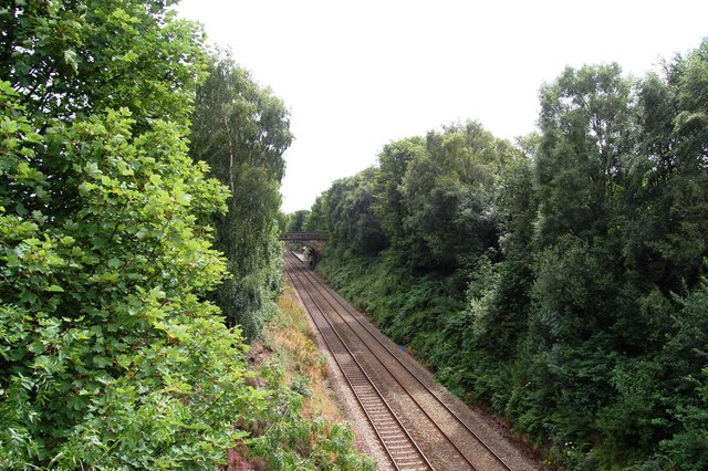 Penistone Line near Stocksmoor Station