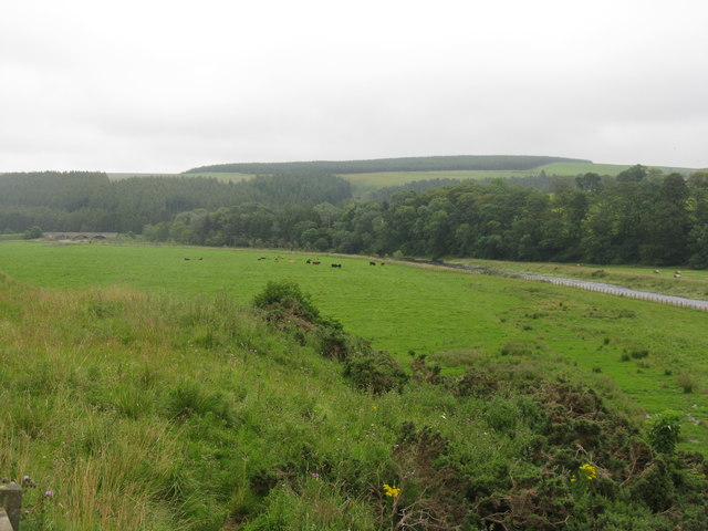 The Whiteadder Water at Ellemford