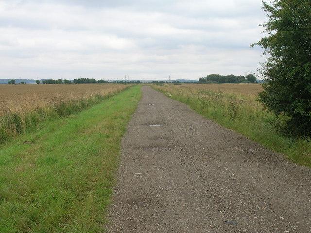 Bridleway towards Washingall Lane