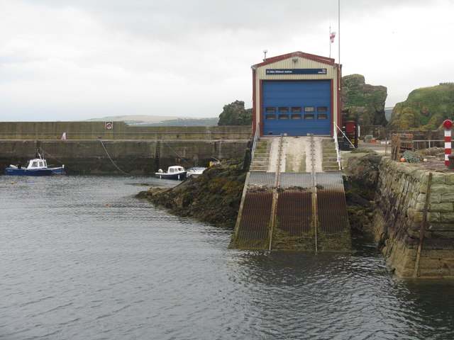 St Abb's Lifeboat Station