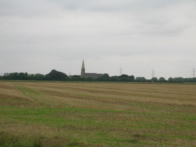 Farmland near Luddington