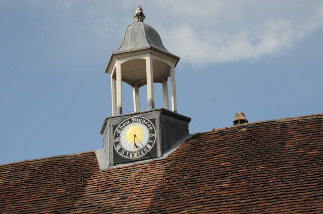 Cupola on Coach house