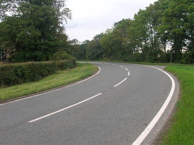 A161 towards Goole