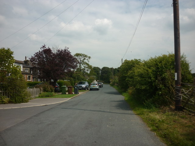 Moorland Road, towards Moor road