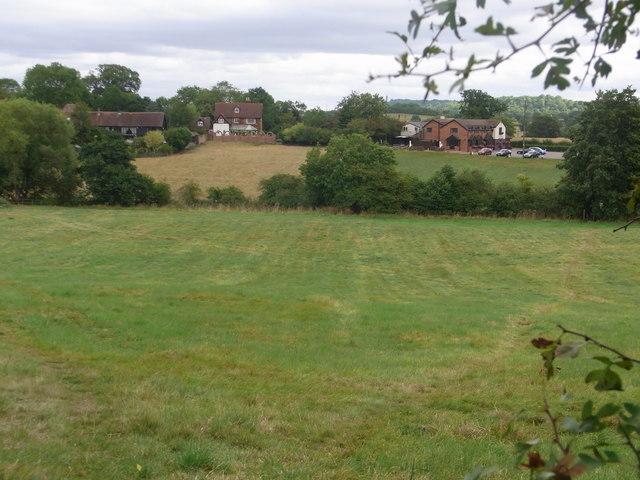 View to Throckmorton Arms