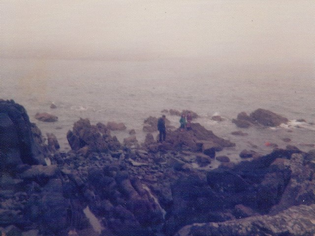 Southern end of Dunrod Point in 1977