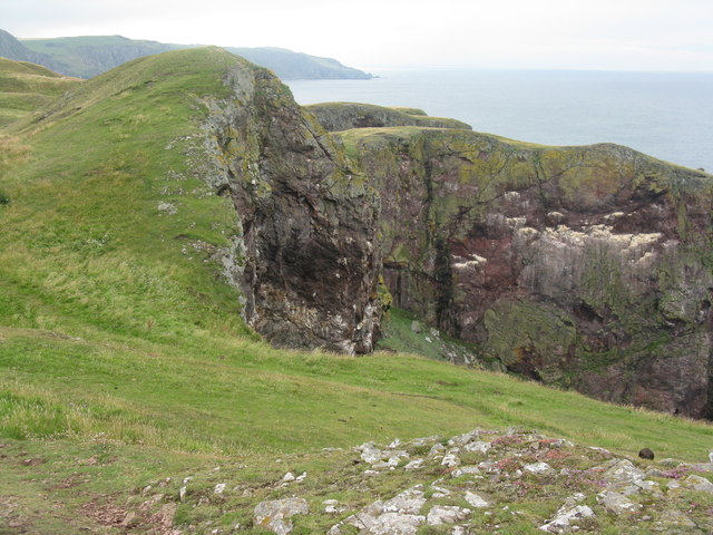 Cliffs at St Abb's Head