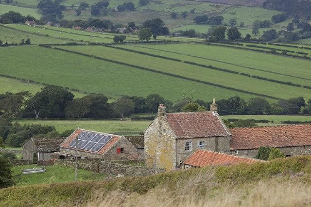 Solar Panels at Brown Hill Farm