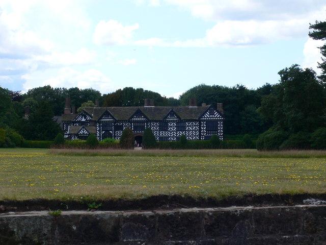 Speke Hall from Bank's Lane