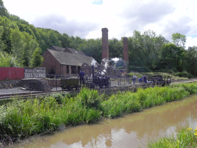 The Brick and Tile Works at Blists Hill