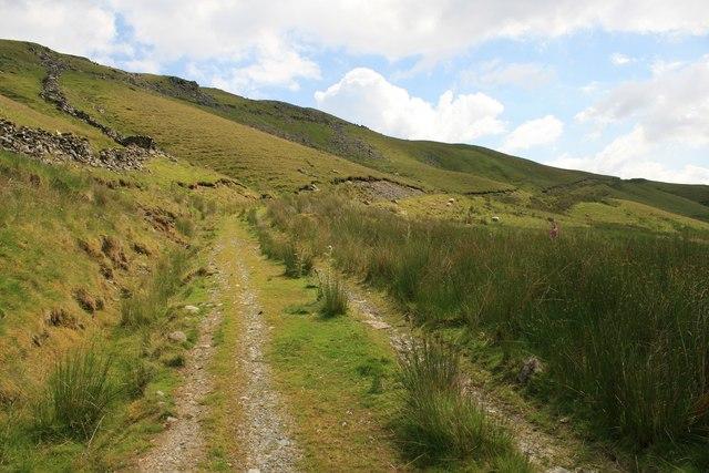 Footpath below Arenig Fawr