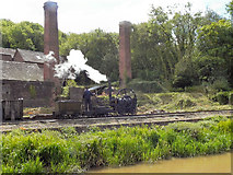 SJ6903 : Steam Engine and Brickworks, Blists Hill by David Dixon