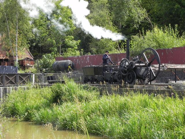 Replica Steam Locomotive, Blists Hill