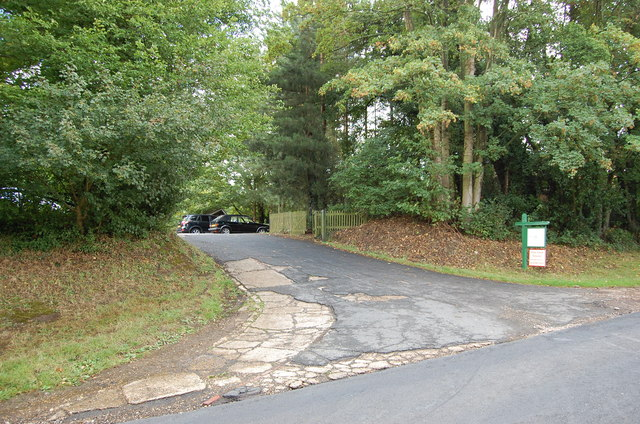Entrance to Hemsted Forest Golf Club