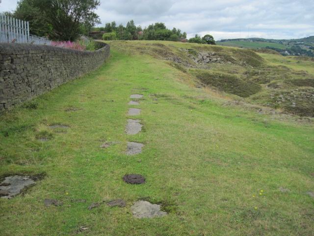 Footpath at Crosland Hill